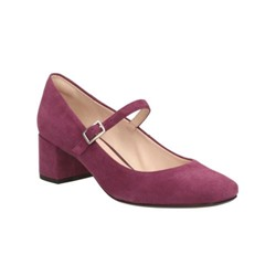 Chinaberry Pop Plum Suede
