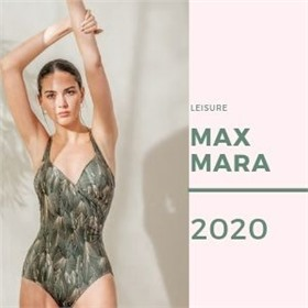 Легендарная Max Mara с коллекцией LEISURE BEACHWEAR SS20