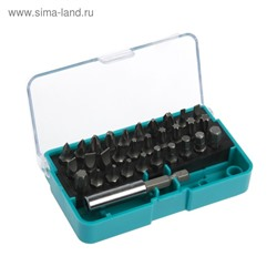 Отвертка Smartbuy, 31 предмет, биты SL, PH, PZ, HEX, TORX по 6 шт, удлин., CR-V