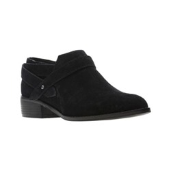 Mesial Daisy Black Suede
