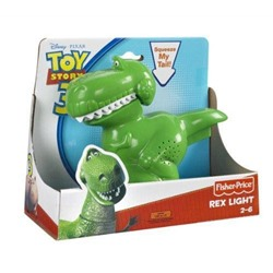 Fisher Price Toy Story Rex Disney Pixar фонарик