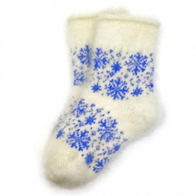 Детские пуховые носки со снежинками - 216.33 купить, отзывы, фото, доставка - СПКубани | Совместные покупки Краснодар, Анапа, Новороссийск, Сочи, Крас