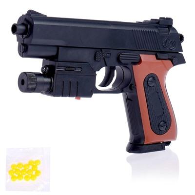 Пистолет пневматический «Классик», с фонариком и лазером купить, отзывы, фото, доставка - СПКубани | Совместные покупки Краснодар, Анапа, Новороссийск