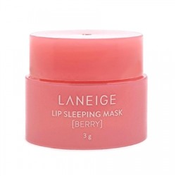 Ночная маска для губ восстанавливающая / [LANEIGE] Lip Sleeping Mask - Berry 3g