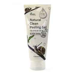 Ekel Natural Clean Peeling Gel Black Snail (180ml)